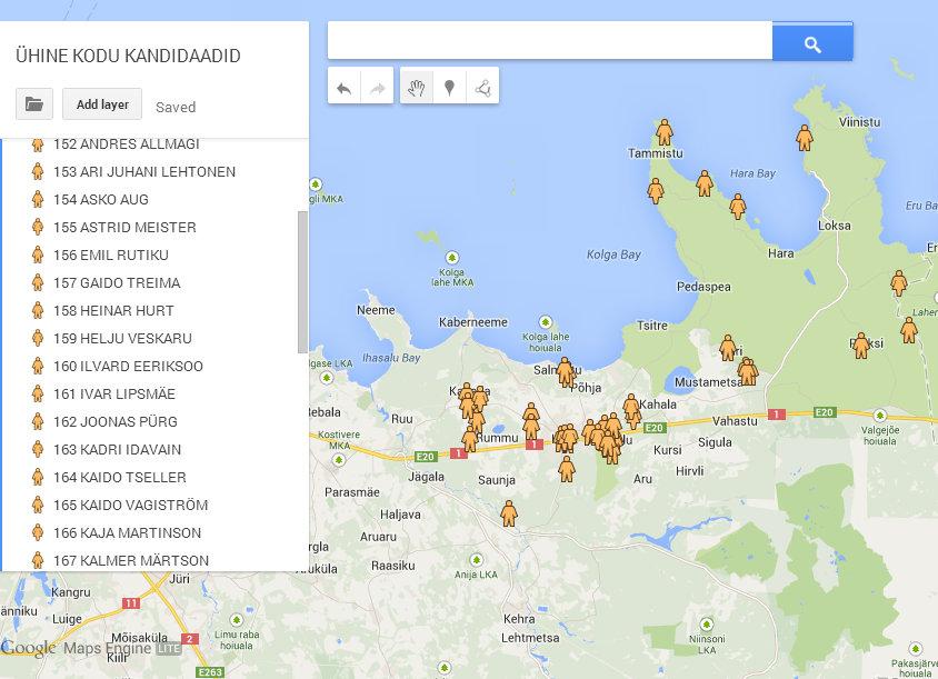 GoogleMaps_Kandidaadid